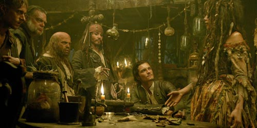 Caribbean Voodoo: PIRATES OF THE CARIBBEAN: DEAD MAN'S CHEST Review By Mark